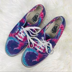 Vans • Tie Dye Sneakers Men's Size 9.5 Women's 11